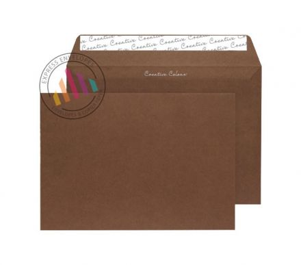 C5 - Milk Chocolate Envelopes - 120gsm - Non Window - Peel and Seal