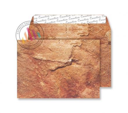 C5 - Yorkshire Sandstone Finish Envelopes - 135gsm - Non Window - Peel & Seal