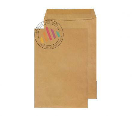 381 x 254 - Manilla Commercial  Envelopes - 90gsm - Non Window - Gummed