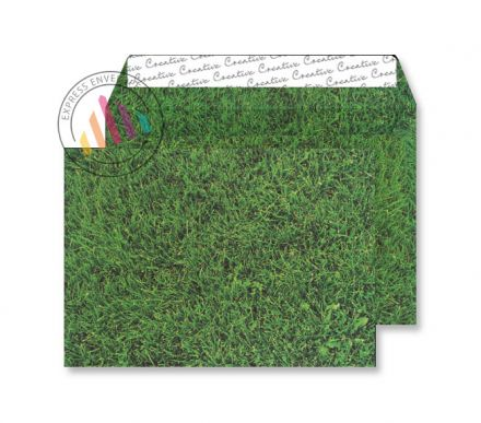 C5 - Fresh Mown Grass Finish Envelopes - 135gsm - Non Window - Peel & Seal