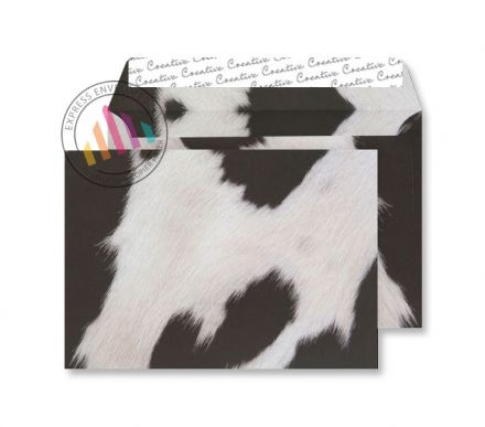 C5 - Friesian Cow Hide Finish Envelopes - 135gsm - Non Window - Peel & Seal