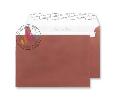 C5 - Metallic Bronze Envelopes - 130gsm - Non Window - Peel & Seal