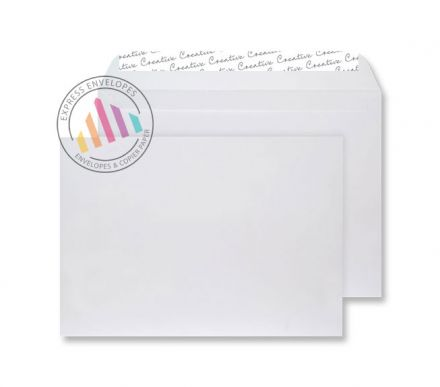 C5 - White Velvet Envelopes - 140gsm - Non Window - Peel & Seal
