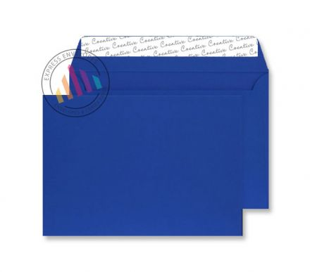 C5 - Blue Velvet Envelopes - 140gsm - Non Window - Peel & Seal