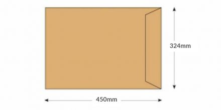 C3 -  Manilla Commercial Envelopes - 115gsm - Non Window - Gummed - image 2