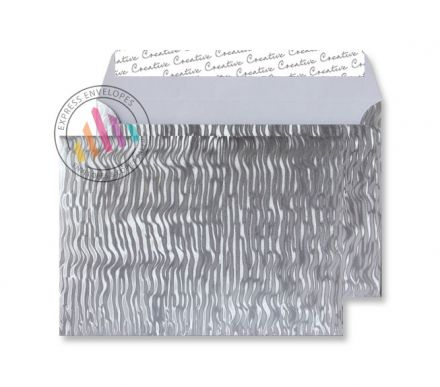 C5 - Metal Ripple Envelopes - 140gsm - Non Window - Peel and Seal