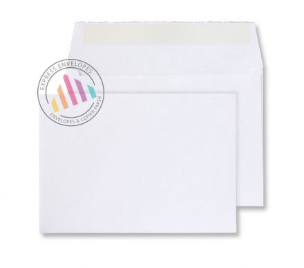 C5 - Beautifully White Handmade Envelopes - 180gsm - Peel and Seal