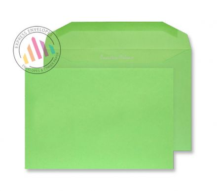 C5+ - Lime Green Envelopes - 120gsm - Non Window - Gummed