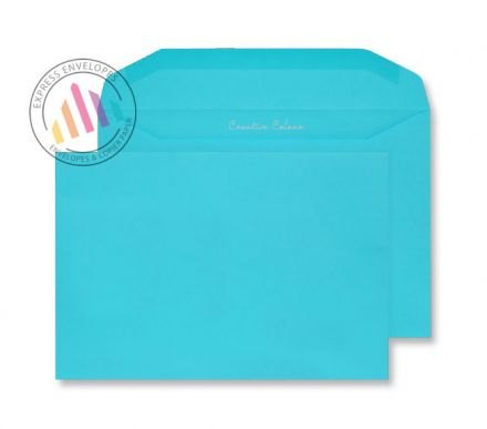 C5+ - Cocktail Blue Envelopes - 120gsm - Non Window - Gummed