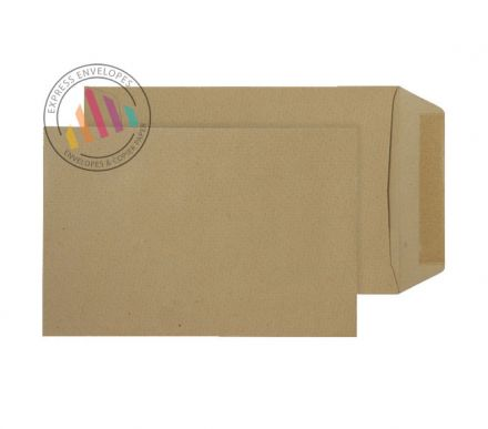 254 x 178 -  Manilla Commercial Envelopes - 115gsm - Non Window - Gummed