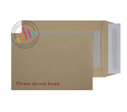C5+ - Manilla Board Back Envelope - 120gsm - Non Window - Peel & Seal