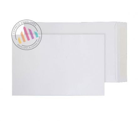 280mm x 185mm - White Commercial Envelopes - 100gsm - Non Window - Peel & Seal