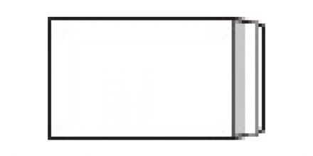 280mm x 185mm - White Commercial Envelopes - 100gsm - Non Window - Peel & Seal - image 2
