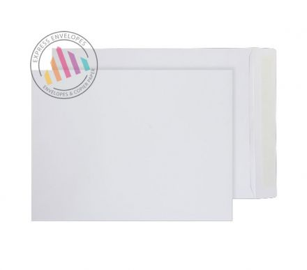 305×229mm - White Commercial Envelopes - 100gsm - Non Window - Peel and Seal