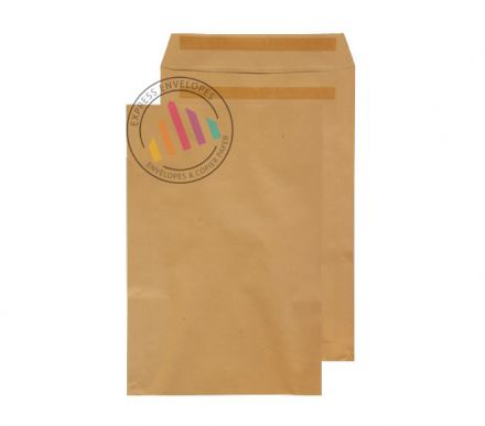 381 x 254 - Manilla Commercial  Envelopes - 90gsm - Non Window - Self Seal