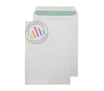 Recycled C4 - Natural White Envelopes - 90gsm - Non Window - Self Seal