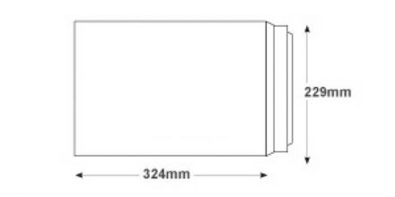 C4 - Smooth Diamond White Envelopes - 120gsm - Non Window - Peel & Seal - image 2
