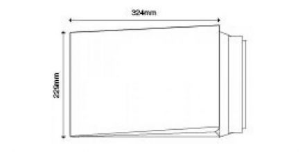 C4 - White Board Back Gusset Envelopes - 120gsm - Non Window - Peel & Seal - image 2