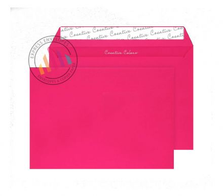 C4 - Shocking Pink Envelopes -120gsm - Non Window - Peel and Seal
