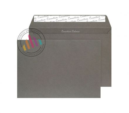 C4 - Graphite Grey Envelopes - 120gsm - Non Window - Peel & Seal