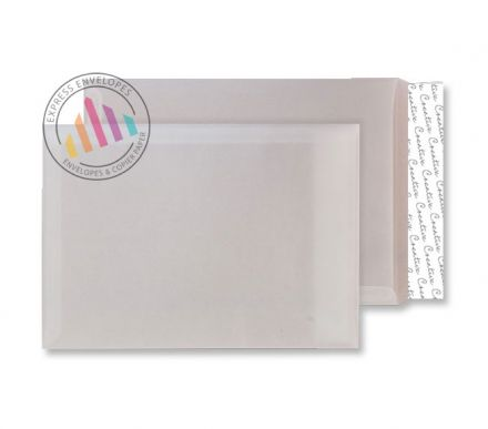 C4 - White Tear Resistant Envelopes  - 90gsm - Non Window - Peel & Seal