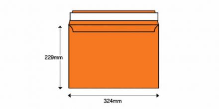 C4 - Orange Velvet Envelopes - 140gsm - Non Window - Peel & Seal - image 2