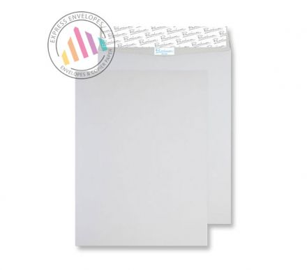 394x305mm - White Tear Resistant Envelopes - 125gsm - Non Window - Peel & Seal