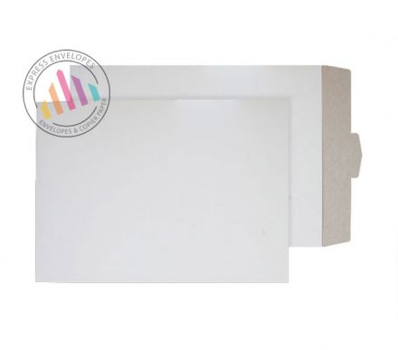 C3 - White All Board Envelopes - 350gsm - Tuck Flap