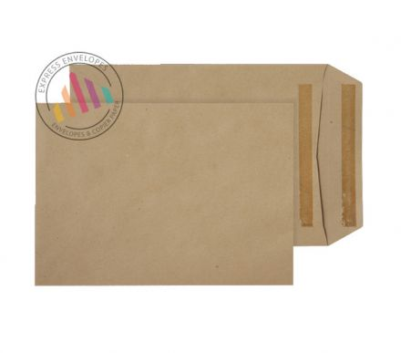 254x178mm - Manilla Commercial Envelopes - 115gsm - Non Window - Self Seal