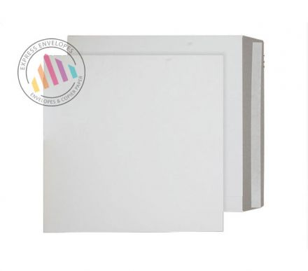444x368mm - White All Board Envelopes - 350gsm - Peel and Seal