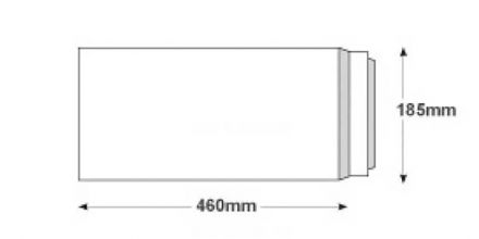 460 x 185mm - White All Board Envelopes - 350gsm - Peel and Seal - image 2