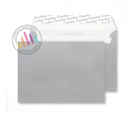 C5 - Silver Metallic Envelopes - 130gsm - Non Window - Peel and Seal