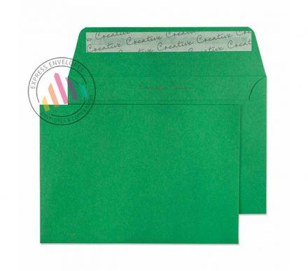 C6 - Avocado Green Envelopes - 120gsm - Non Window - Peel and Seal