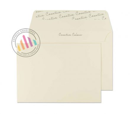 C6 - Clotted Cream Envelopes - 120gsm - Non Window - Peel and Seal
