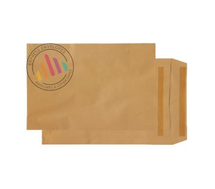 381 x 254 - Manilla Commercial  Envelopes - 115gsm - Non Window - Self Seal