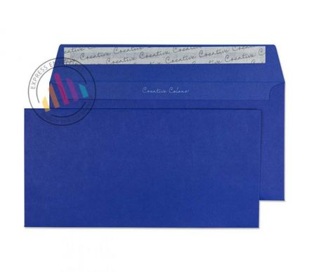 DL+ - Victory Blue Envelopes - 120gsm - Non Window - Peel and Seal
