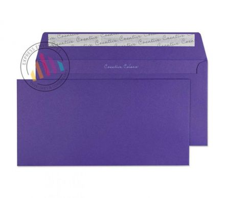 DL+ - Blackcurrant Envelopes - 120gsm - Non Window - Peel and Seal