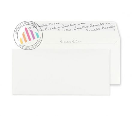 DL+ - Ice White Envelopes - 120gsm - Non Window - Peel and Seal