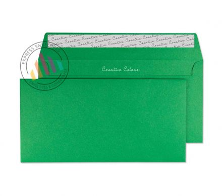 DL+ - Avocado Green Envelopes - 120gsm - Non Window - Peel and Seal