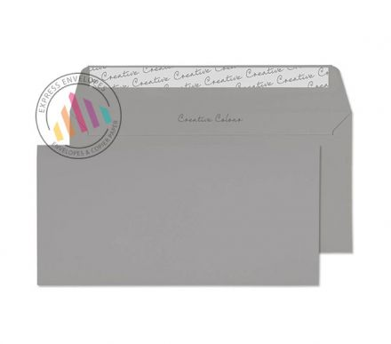 DL+ - Storm Grey Envelopes - 120gsm - Non Window - Peel and Seal