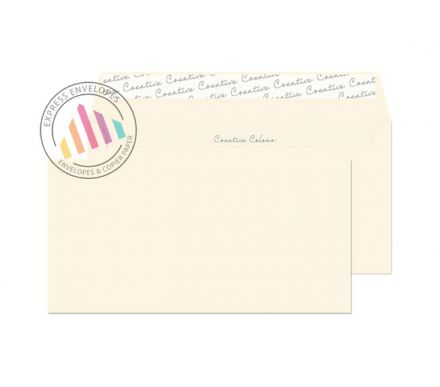 DL+ - Soft Ivory Envelopes - 120gsm - Non Window - Peel and Seal