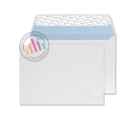 C6 - Ultra White Wove Envelopes - 120gsm - No Window - Peel and Seal