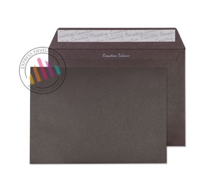 C5 - Bitter Chocolate Envelopes - 120gsm - Non Window - Peel and Seal