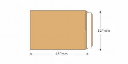 C3 -  Manilla Commercial Envelopes - 115gsm - Non Window - Peel & Seal - image 2