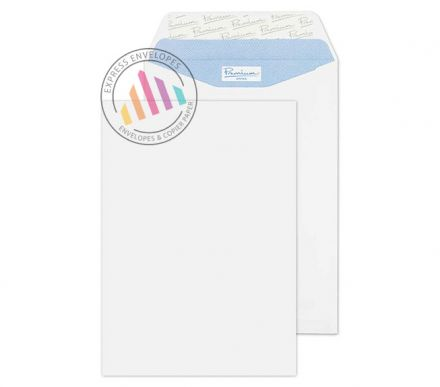 C5 - Ultra White Wove Premium Envelopes - 120gsm - Non Window - Peel and Seal