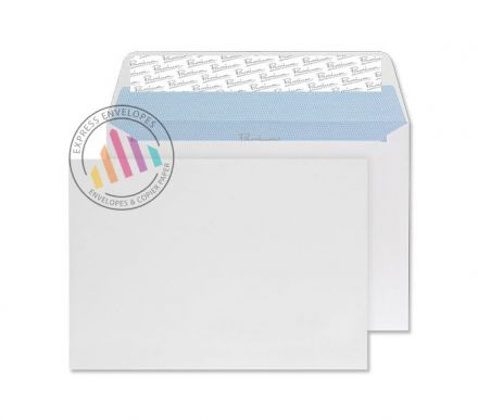 C5 - Ultra White Wove Envelopes - 120gsm - Non Window - Peel and Seal
