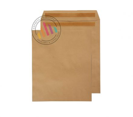 305 x 250 -  Manilla Commercial Envelopes - 90gsm - Non Window - Self Seal