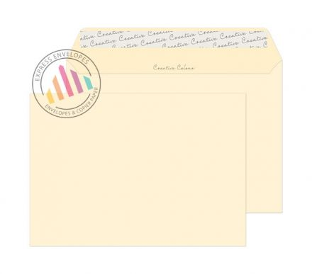 C5 - Clotted Cream Envelopes - 120gsm - Non Window - Peel and Seal