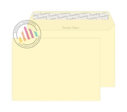 C5 - Vanilla Ice Cream Envelopes - 120gsm - Non Window - Peel and Seal