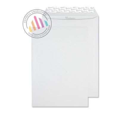 C4 - High White Wove Envelopes - 120gsm - Non Window - Peel and Seal
